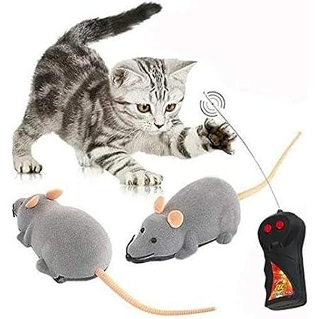 TOYMYTOY 2 St/ück Plastikspielzeug f/ür Ratten Spielzeug Mouse Halloween Streich Spielzeug Gruselig Halloween Dekor
