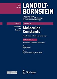 H2O (HOH), Part 1 γ: Molecular constants mostly from Infrared Spectroscopy Subvolume C: Nonlinear Triatomic Molecules: 20C1g