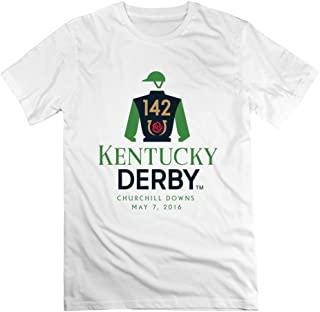 Nuoke Men's Kentucky Derby Churchill Downs T-shirt