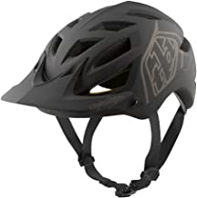 Troy Lee Designs Adult | Trail | All Mountain | Mountain Bike A1 Classic MIPS Helmet (XL/2X, Black)