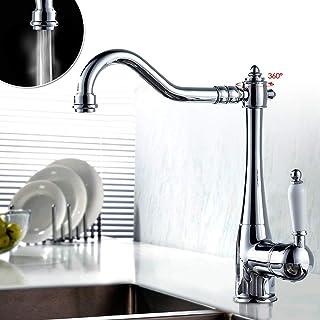 2 piezas de cabezal de rociador giratorio 360 /° para grifo de cocina doble modo de ahorro de agua acabado cromado para cocina y ba/ño