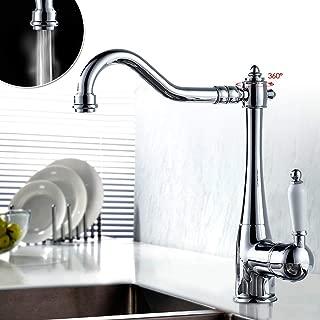 Auralum® 360°Grifo cocina Mezclador para cocina y Baño