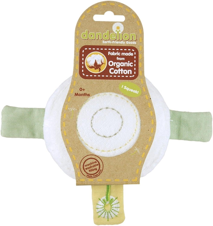 Dandelion Classic Organic Toy Bullseye Squeaker [Baby Product]