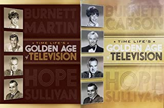 Television The Golden Age 2 from Time Life 17-DVD Collection with over 35-Hours of Classic TV in 2 Volumes (8-DVD Set and 9-DVD Set) Comedy Carol Burnett Johnny Carson Ed Sulivan and Many More!!