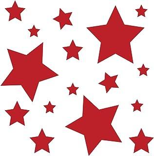 Suchergebnis Auf Für Roter Stern Aufkleber Merchandiseprodukte Auto Motorrad
