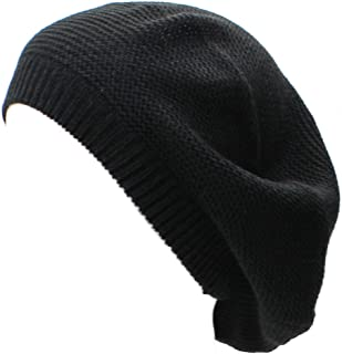 JTL Beret Beanie Hat for Women Fashion Light Weight Knit Solid Color