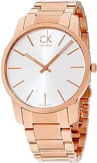 Calvin Klein Mens Quartz Watch, Analog Display And Stainless Steel Strap, K2G21646, Silver