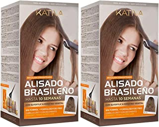 Kativa Keratina y Argán - Kit Alisado Brasileño PACK 2x150