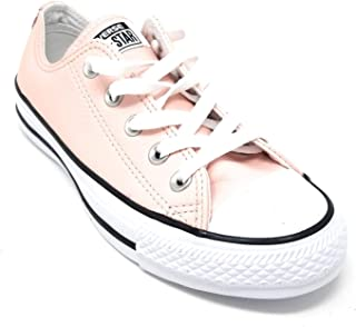 CTAS Chuck Taylor All Star OX Low Pink Leather Sneaker