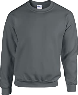 Gildan Heavy Blend Mens Ribbed Cuff & Waistband Polycotton Sweatshirt S-5XL