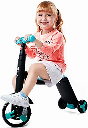 Deformationsroller Kinderroller Kinderfürrad Au roller (Farbe   Blau, Größe   70cm22cm76cm)
