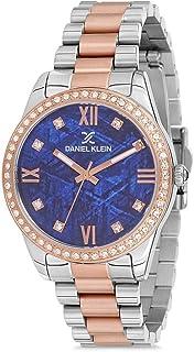 Daniel Klein Premium Ladies - Blue Dial Multicolor Band Watch - DK.1.12541-4