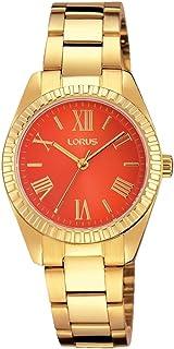 Lorus ladies reloj para Mujer Analógico de Cuarzo con brazalete de Acero inoxidable RG232KX9