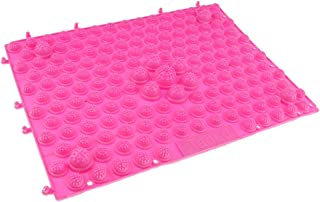 F Fityle Reflexology Foot Massage Pad Toe Pressure Plate Acupressure Yoga Mat | Can be Connected with Other Mats | Fit for Outdoor/Indoor
