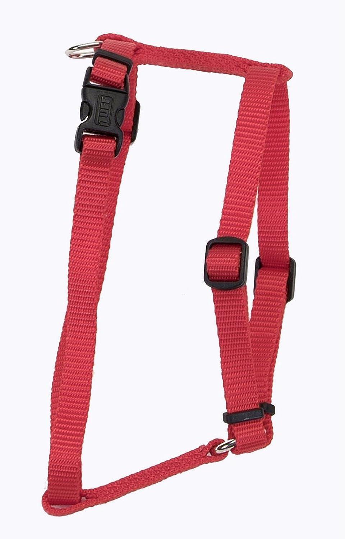 COASTAL  Nylon Adjustable Harness Red Large  1  x 22 38