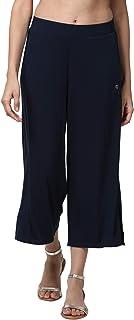 Enamor Women's Relaxed Fit Pants