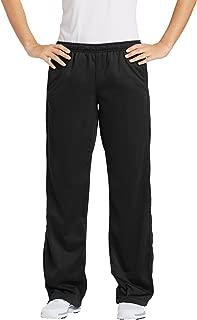 Sport-Tek Ladies' Drawcord Athletic Track Pants