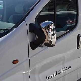 entrambi i lati 2001-2014 Copertura cromata per specchietto retrovisore Trafic//Vivaro//Primastar
