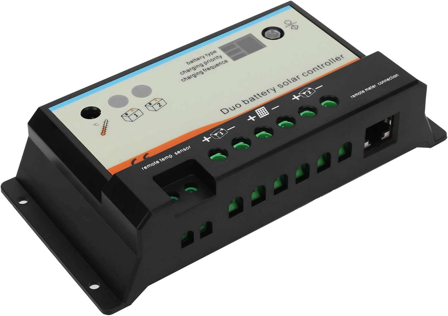 Tgoon Dual Battery Solar Award-winning Charlotte Mall store Charge Controller Control
