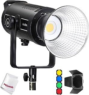 Godox SL150WII Luz de Video LED, 5600K con luz Diurna, CRI 96 TLCI 97 Color preciso, 8 Efectos de luz FX incorporados, 580...
