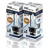 Lunex D2S Faro lampada allo xeno lampadina di ricambio (6000K)