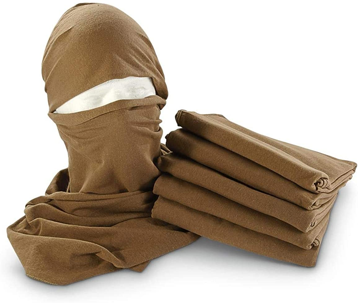 Clearance SALE Limited time USGI Military Issue Coyote Neckerchiefs Scarf Ultra-Cheap Deals Brown