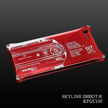 日産(NISSAN)GT-R ジュラルミンiPhoneケース for ケンメリ (iPhoneSE(初代)/5/5S)