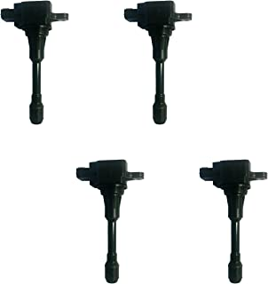 New AD Auto Parts High Performance Ignition Coil Set of 4 For Infiniti FX50 M56 Nissan Altima Sentra Versa UF549