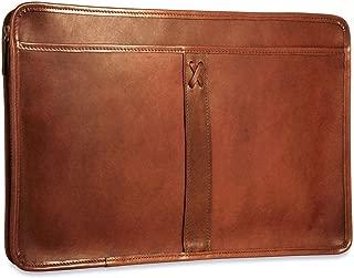 CrookhornDavis Men's American Bullhide Leather Underarm Portfolio Briefcase