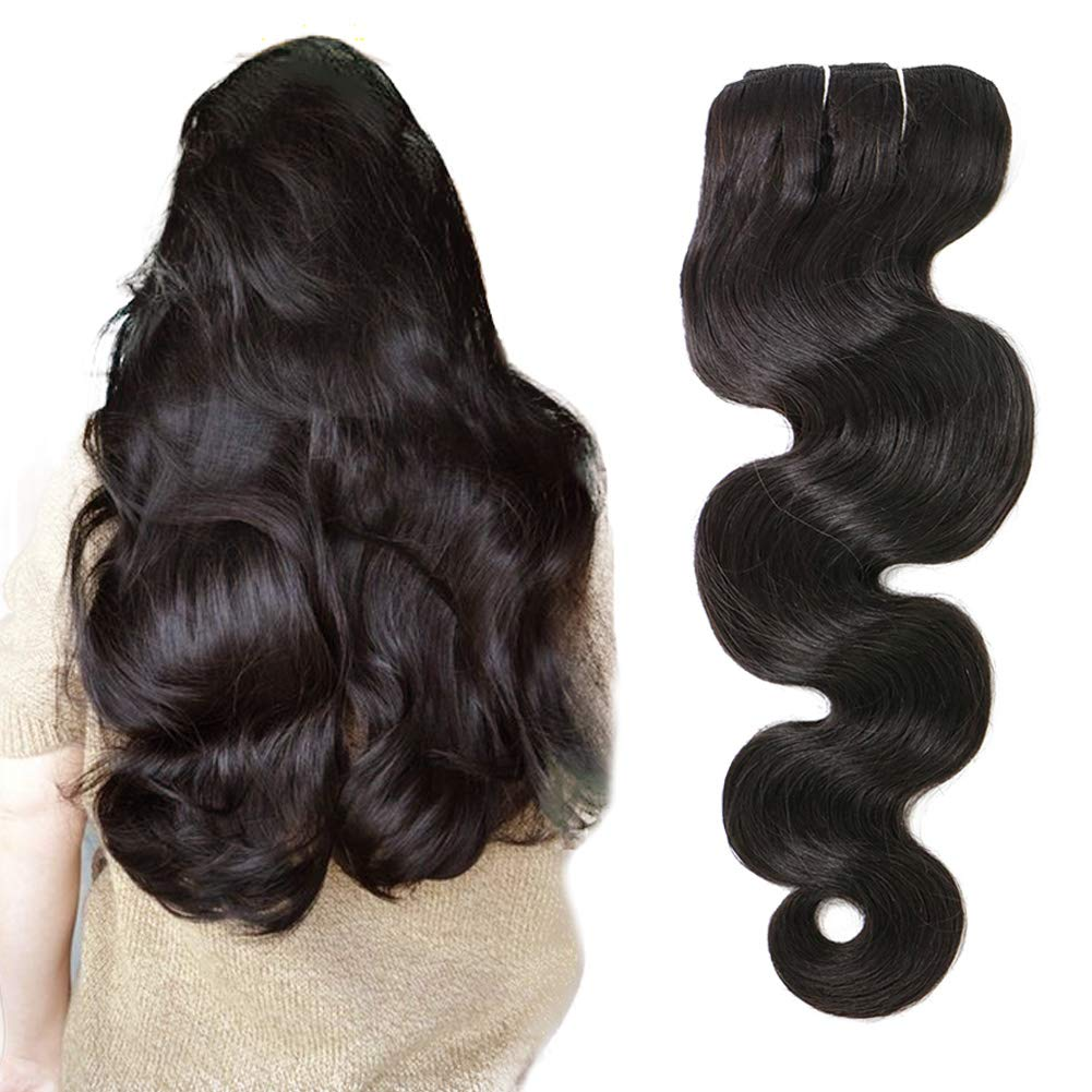 Ubetta Max 85% OFF 7 Ranking TOP20 Pcs 120g Body Wave Clip Wavy Extensions Hair in Natural