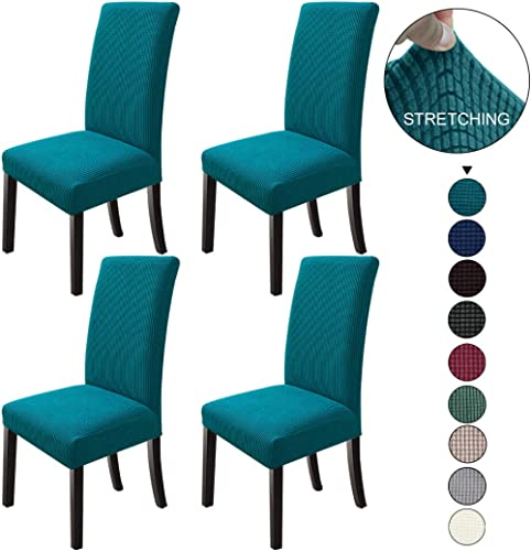 NORTHERN BROTHERS Dining Room Chair Covers Parsons Chair Slipcover Stretch Chair Covers for Dining Room,Kitchen Set o...
