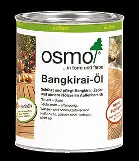 OSMO Bangkirai-Öl dunkel 016 seidenmatt 750ml