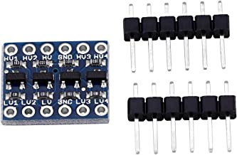 【2021 New Year 𝐏𝐫𝐨𝐦𝐨𝐭𝐢𝐨𝐧】 Level Converter Module, 4-Channel IIC I2C Logic Level Two Inputs Two Outputs 5V 3.3V Bi...