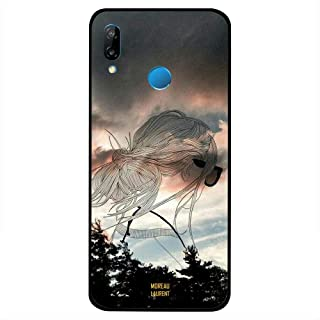 Huawei Nova 3i Case Cover Doodle Girl From Right Back, Moreau Laurent Premium Phone Covers & Cases Design
