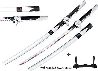 Mingshao Game Over Watch Gen Ji Sword Cosplay Props 1:1 Metal with Sword Stand