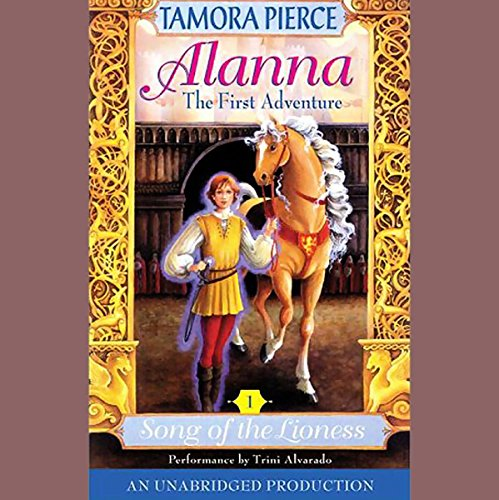 Alanna, The First Adventure cover art