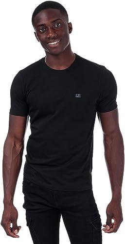 C.P. Company T-Shirt S S petit Chest Logo Goggles Noir Homme