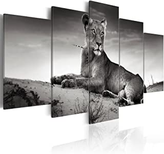 lioness paintings on canvas