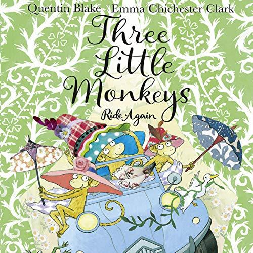 Three Little Monkeys Ride Again cover art
