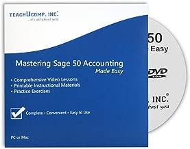 $21 » Mastering Sage 50 Made Easy v. 2019 (U.S. Version) Video Training Tutorial DVD-ROM Course