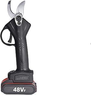Mini ramas de poda Ramas 48V sin cable eléctrico Tijeras de podar de energía recargable profesional Pruner poda Herramientas de tijera con 2 de ion de litio Prunders