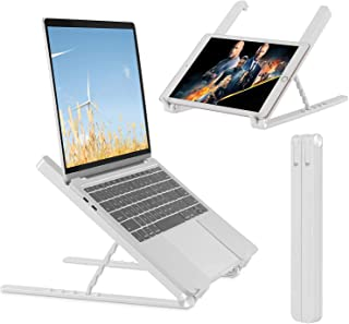 Laptop Stand, WINOK Portable Laptop Riser Stand Ergonomic Foldable Computer Stand for MacBook Air Pro, Dell XPS, HP, Lenov...