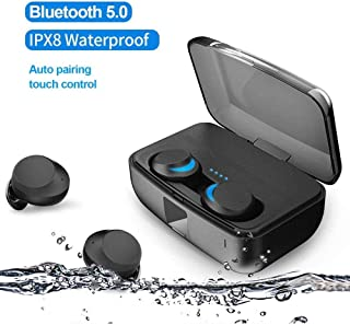 Megacare Wireless Stereo Earbuds Megacare True Wireless Stereo Sound Bluetooth5.0 IPX8 Waterproof Noise Reduction Headphon...
