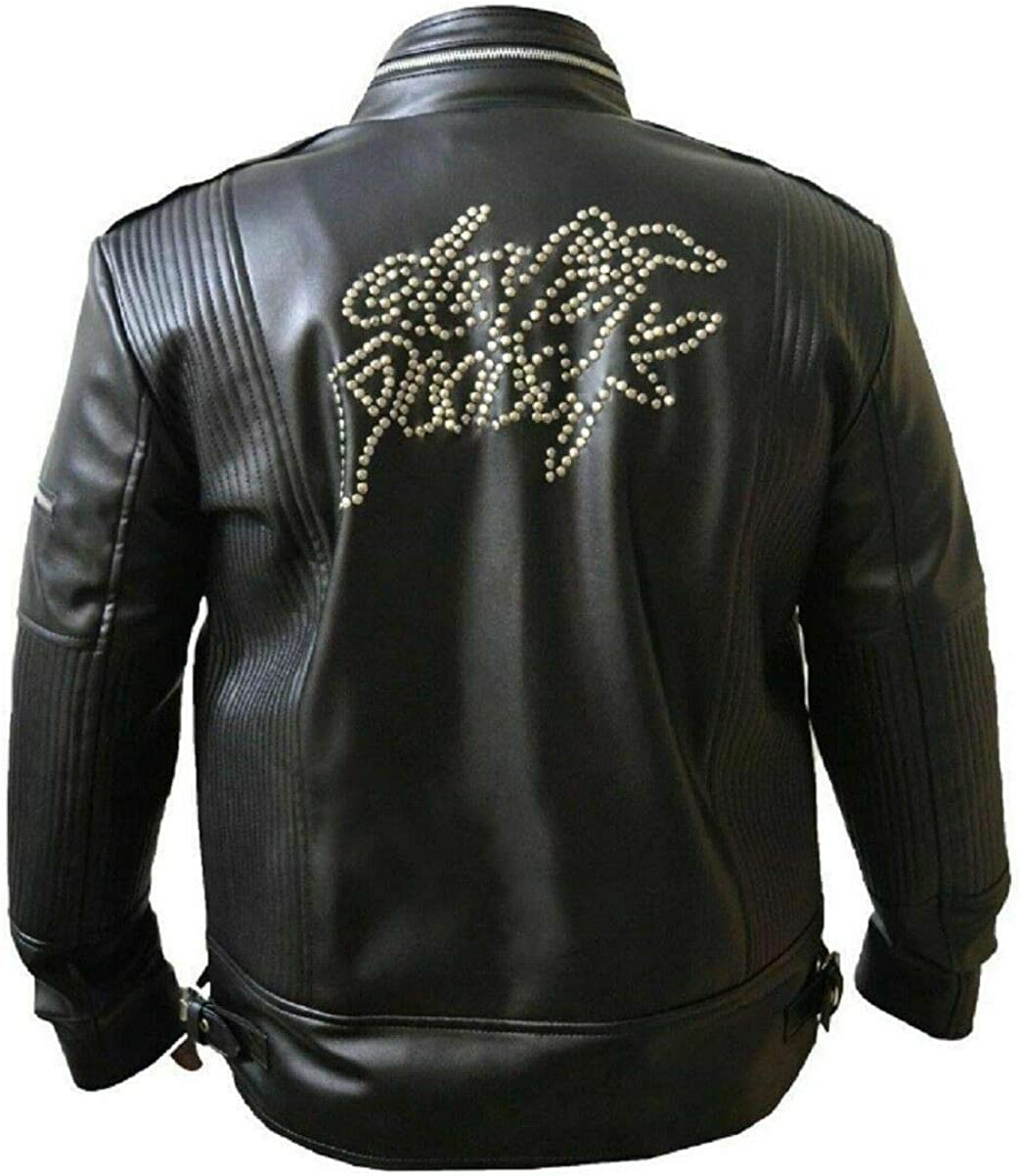 Quantity limited ADS Fashion Jacket Makers Men's Lucky Black Daft Super beauty product restock quality top Punk Get