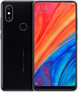 KuGi Smooth Silicone Back Case Cover for Xiaomi Mi MIX 2S, Clear