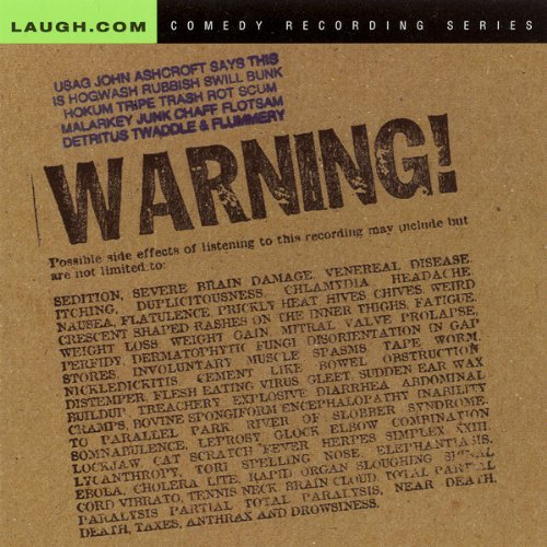 Warning! audiobook cover art