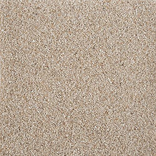 Annastore Sand feinkörnig zur Dekoration - Beutel mit 1 kg Dekosand Farbsand Farbe Creme