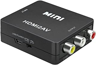 HDMI to AV HD Video 1080P Audio Converter Box Adapter for PC Laptop TV US by Nstcher