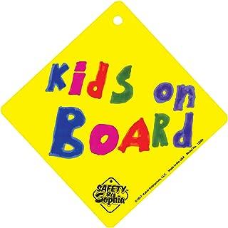 Kids on Board Sign 2 Pack