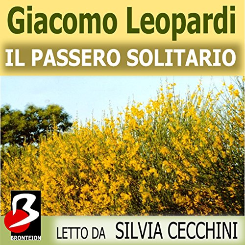 Il Passero Solitario [The Thrush] audiobook cover art